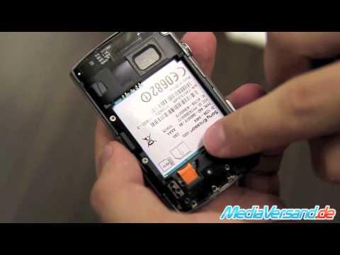 Sony Ericsson Xperia X10 mini pro SIM und Akku Handy Telefon Mobile