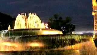 名古屋市内。 久屋大通り公園の希望の泉からテレビ塔を見てます。 夜は...