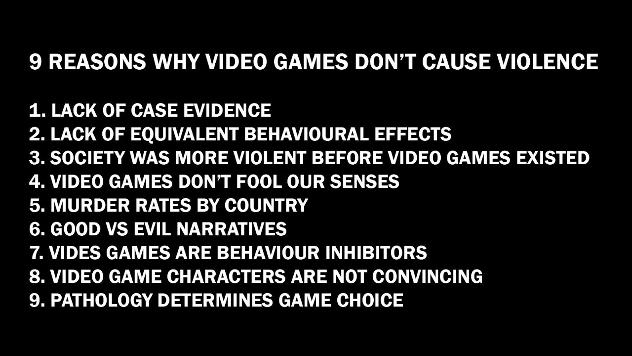 No evidence that violent video games are causing mass ...