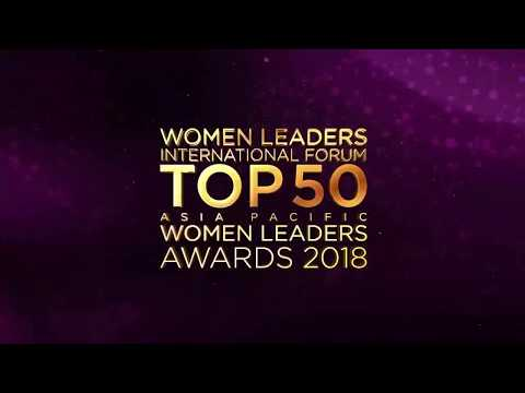 Top 50 ASIA PACIFIC WOMEN LEADERS AWARDS 2018