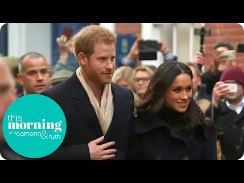 Prince Harry and Meghan Markle Get the Alison Hammond Experience!  This Morning