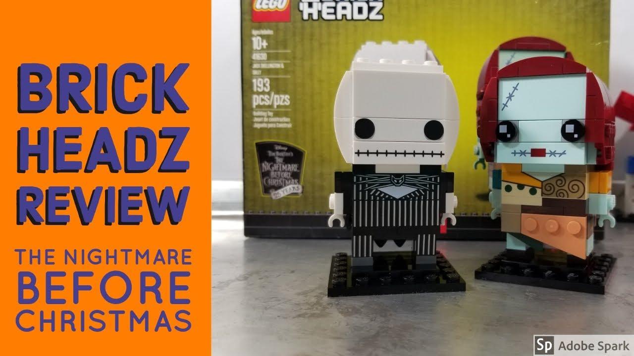 Lego The Nightmare Before Christmas Brickheadz Review   Jack ...