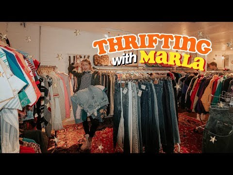 Thrifting With Marla (Vintage Clothing Store)