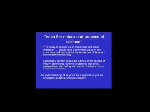 Process and Nature of Science in Teaching Introductory Biology