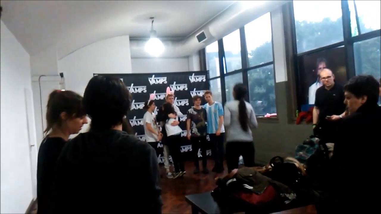 My meet and greet with the vamps in argentina 14052016 youtube my meet and greet with the vamps in argentina 14052016 m4hsunfo