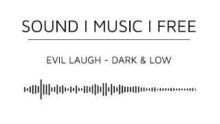 Free Horror Game SFX  - Evil Laugh (Direct Download)