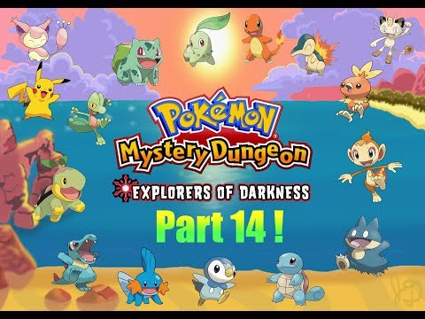 Pokemon Mystery Dungeon | Explorers of Darkness w/ Tyler | Part 14! Post Game!