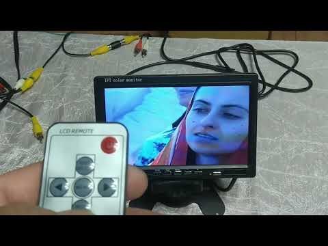 TFT ЖК монитор AOSHIKE / TFT LCD Monitor AOSHIKE