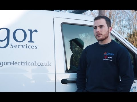 Working at Gregor: Martin, electrician