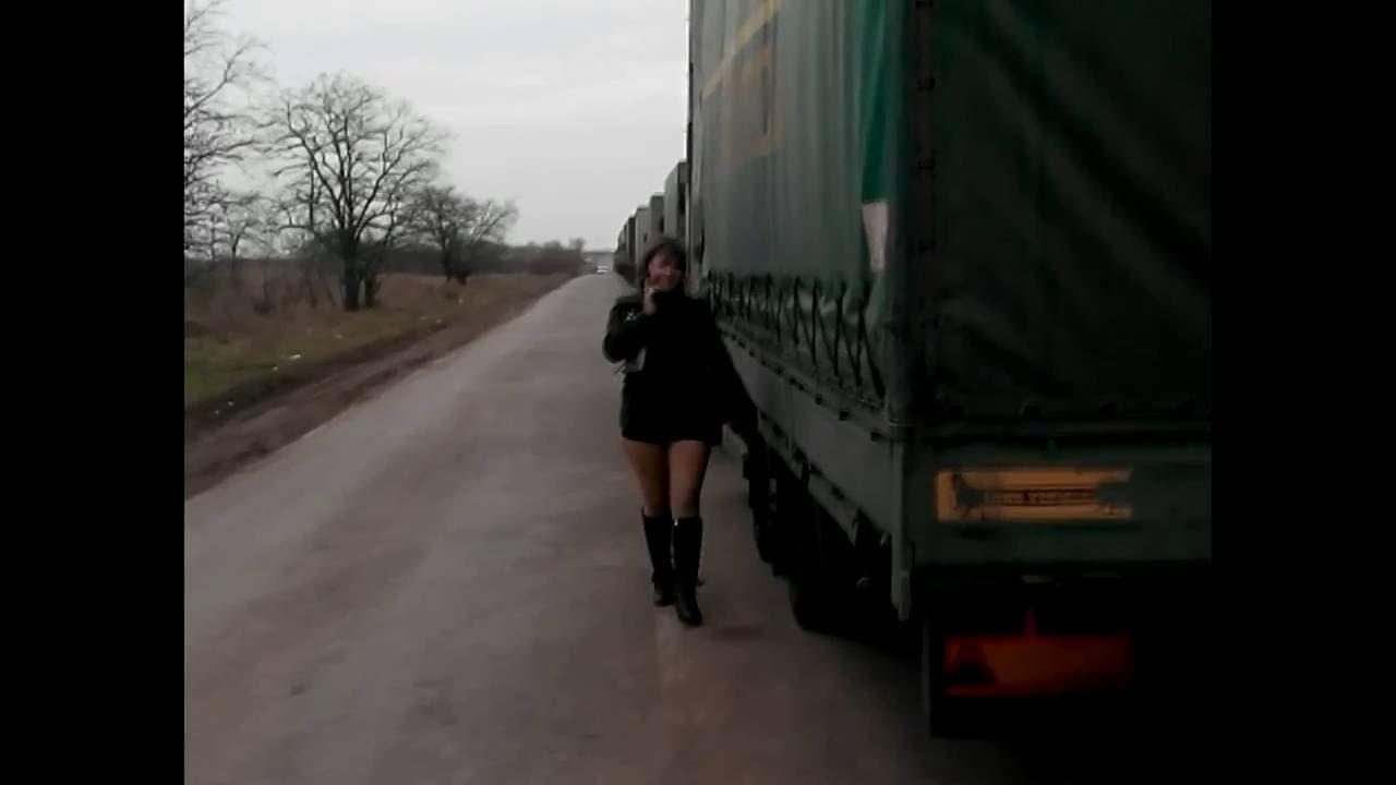 Дальнобойщики сняли проститутку и в жопу проститутки диана тюмень