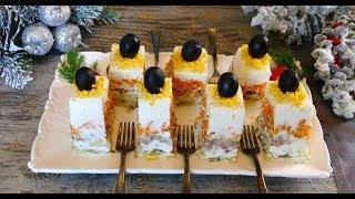 Удивлюсь, если вы знакомы с этим салатом! ГЕНИАЛЬНЫЙ САЛАТ без единой капли майонеза!