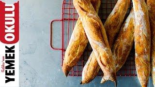 Ekşi Mayalı Baget Ekmeği Tarifi | Burak'ın Ekmek Teknesi
