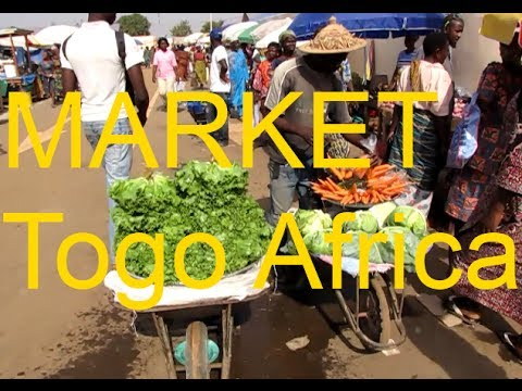 Walking The NEW Kara Togo West Africa Market