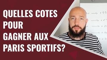 Sur quel type de COTES miser pour GAGNER aux paris sportifs?