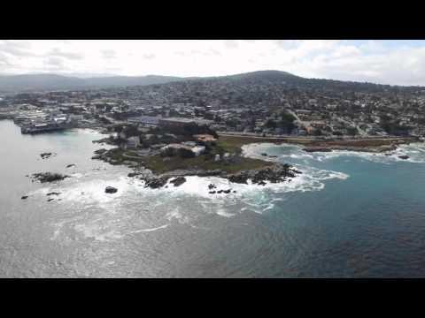 The Monterey Bay, California 4k