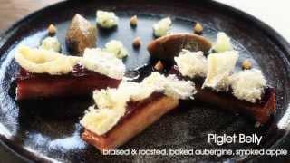 Michelin Star Chef Tom Aikens Cooks Cod Brandade, Piglet Belly, Coconut Parfait & Mango Recipes