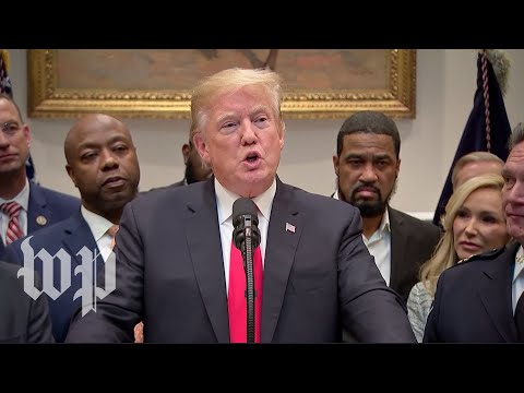 Trump makes announcement on criminal justice reform