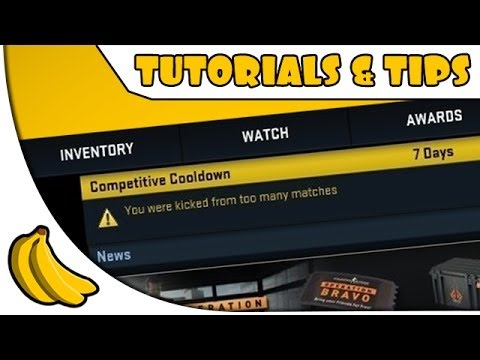 cs go matchmaking cooldown times