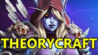 ♥ New Sylvanas First Impressions & Theorycrafting - Heroes of the Storm (HotS Gameplay)