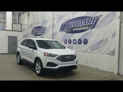 2019 Ford Edge SE 100A W/ 2.0L EcoBoost, Cloth Overview   Boundary Ford