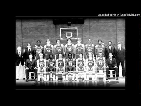 """The Kentucky NCAA Champs"" Song by Ben Ferrell, 1978"