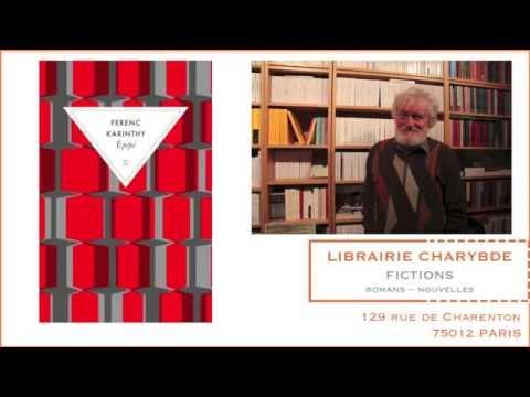 Epépé présenté par Georges-Olivier Chateaureynaud (Librairie Charybde, 28 février 2014)