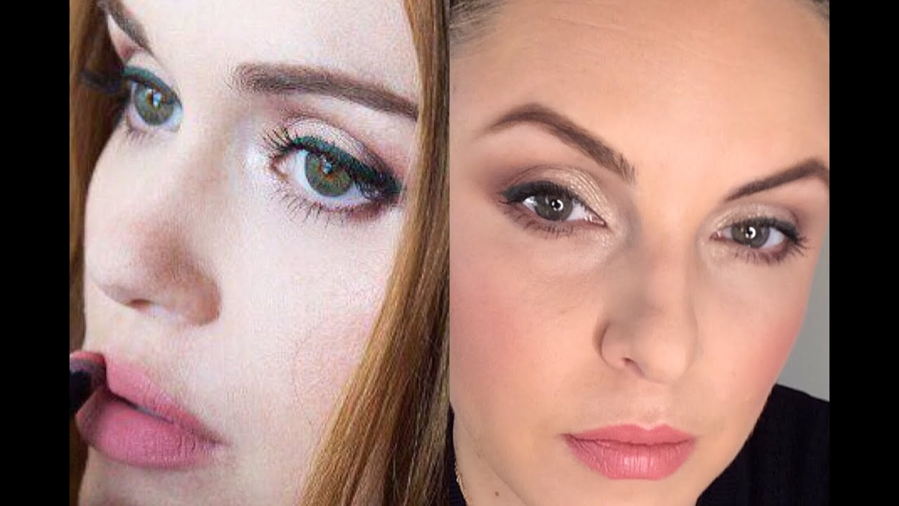 How to wear burgundypink eyeshadow holland roden comic con look how to wear burgundypink eyeshadow holland roden comic con look elle leary artistry baditri Image collections