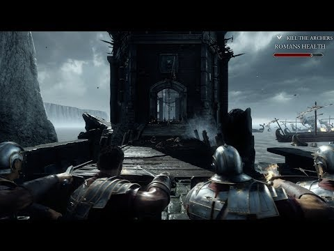 Roman Legions in Epic Beach Assault ! In AWSM Action Game Ryse Son of Rome