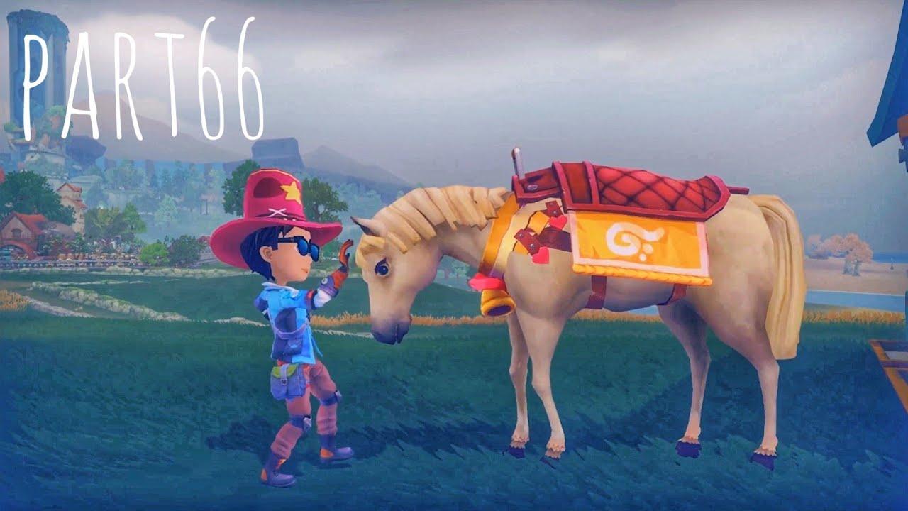We Got A Horse My Time At Portia Part 66 Lets Play Walkthrough