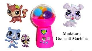 Miniature Gumball Machine -  Diy Lps Crafts & Doll Stuff