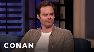 Bill Hader Only Cries Once A Year - CONAN on TBS