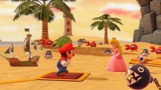 Super Mario Party: Challenge Road - Salty Sea: Character Mario