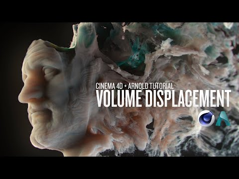 Using Volume Displacement in Cinema 4D and Arnold