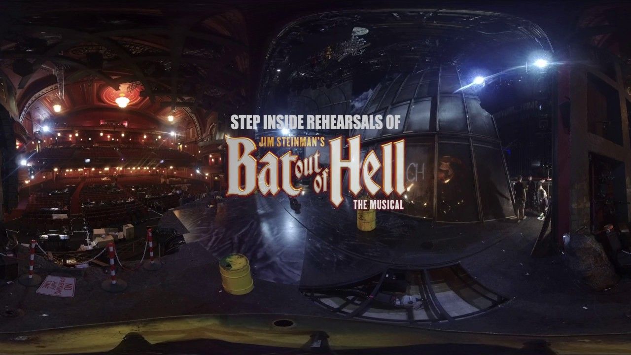 360 Rehearsals Bat Out Of Hell Dominion Theatre