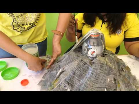 Volcano Model Making & Volcano Eruption Experiment