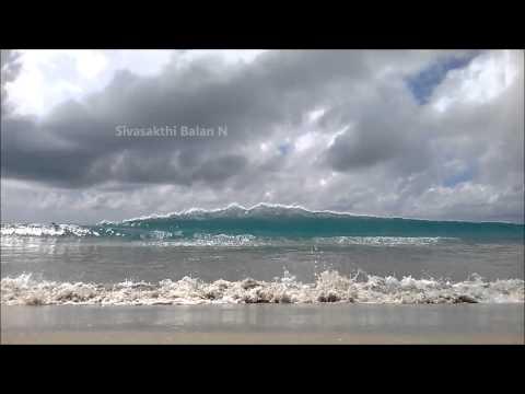 Awesome Waves in Dhanushkodi