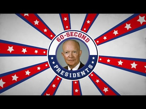 Dwight D. Eisenhower | 60-Second Presidents | PBS