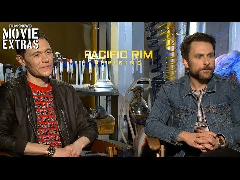 PACIFIC RIM UPRISING 2018 Burn Gorman & Charlie Day talk about their experience making the movie