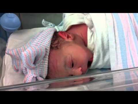 Sarina JUST born