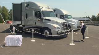 Daimler announces self-driving truck center