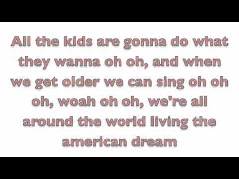 The American Dream lyrics by Allstar Weekend