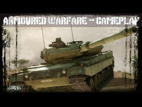 Armoured Warfare - 1st Gameplay footage