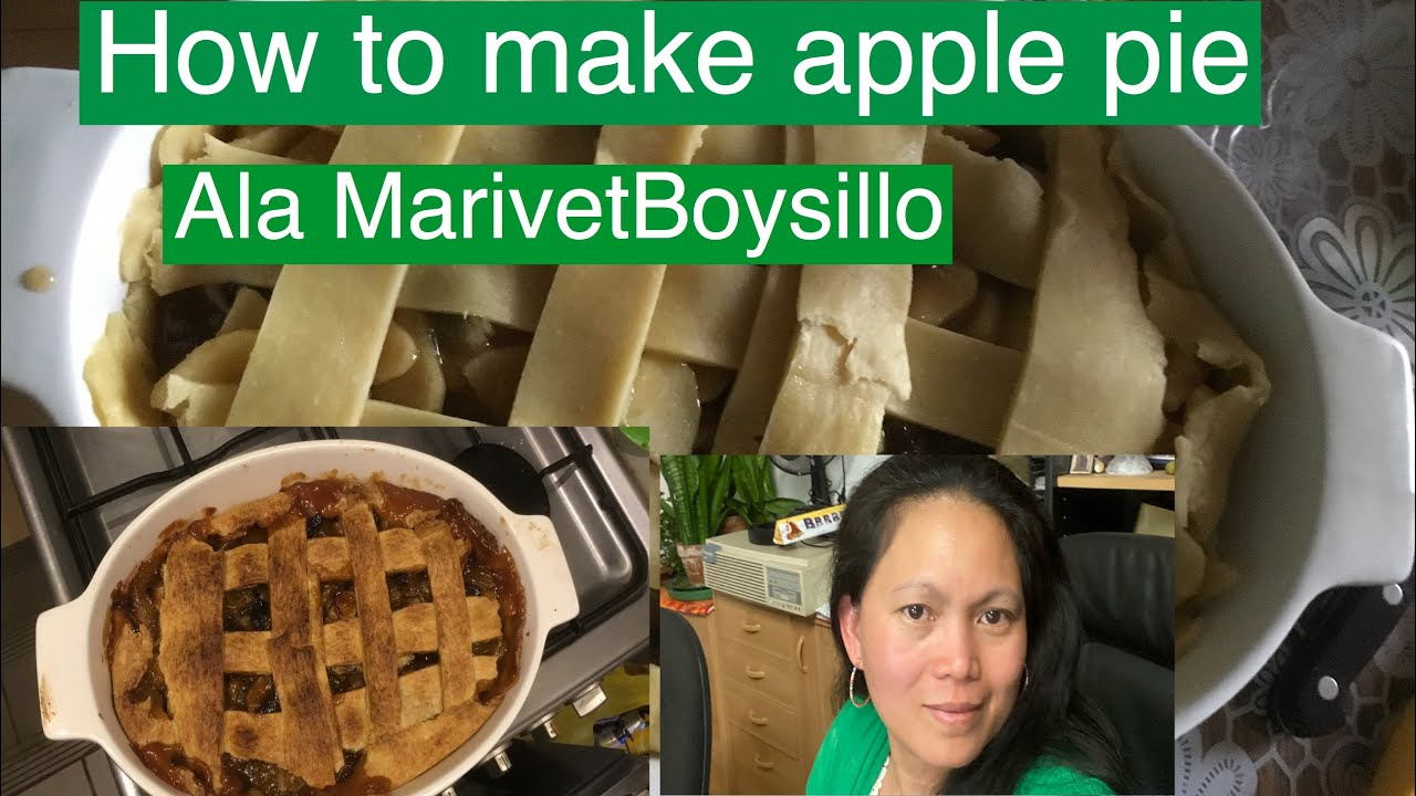 How to make apple pie[[Ala MarivetBoysillo ] first try expirement