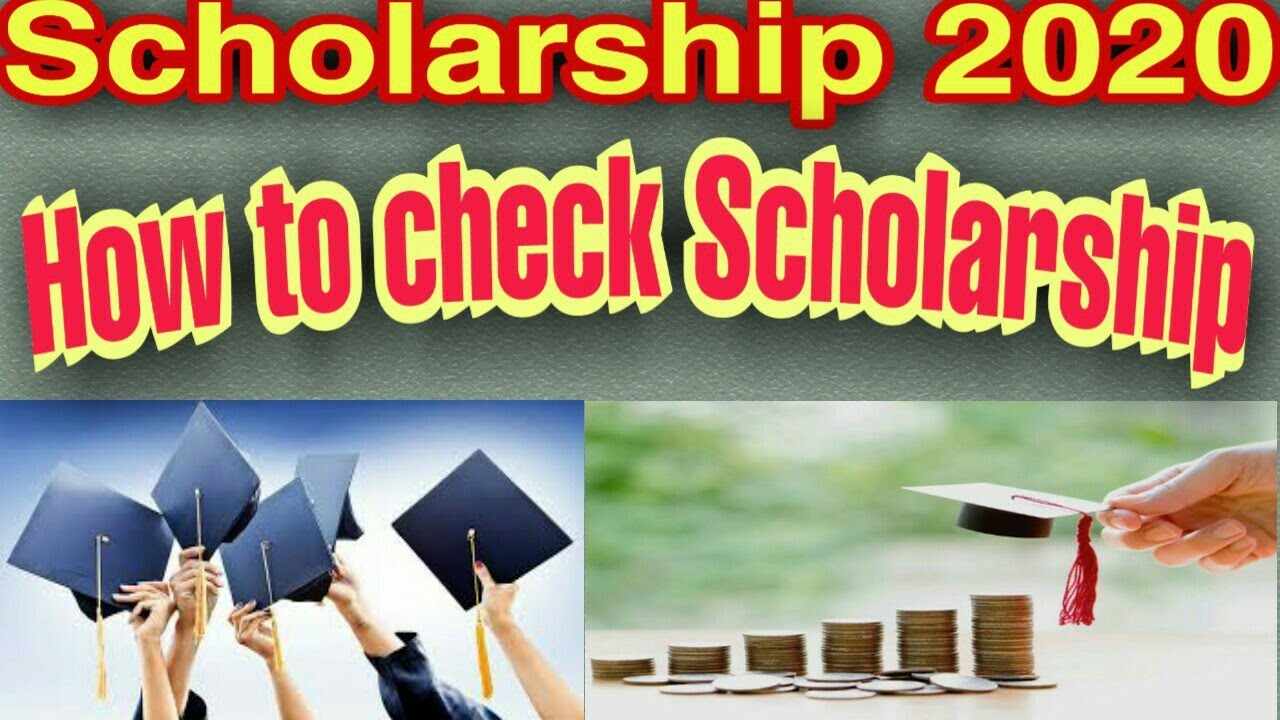 scholarship kaise check kare national or up scholarship