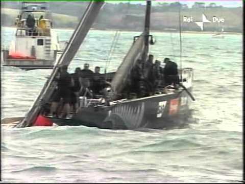 Vela Coppa America 2003 Alinghi-NewZeland 4°regata parte2°
