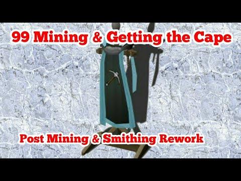 Runescape 3 99 Mining Milestone And Getting The Mining Cape