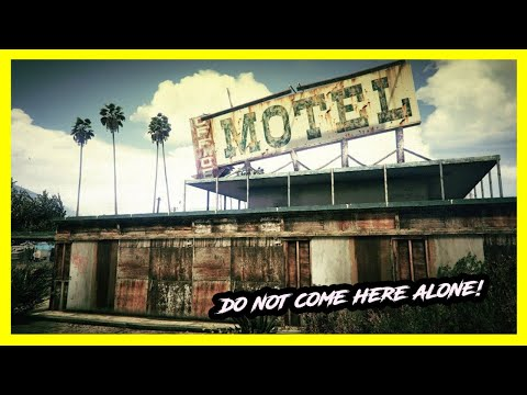 SCARY ABANDONED MOTEL... ILLEGAL HOMELESS HIDEOUT