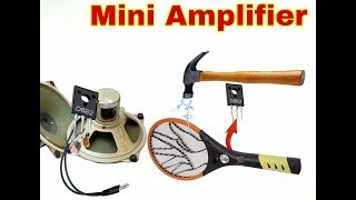 How to Mini Amplifier