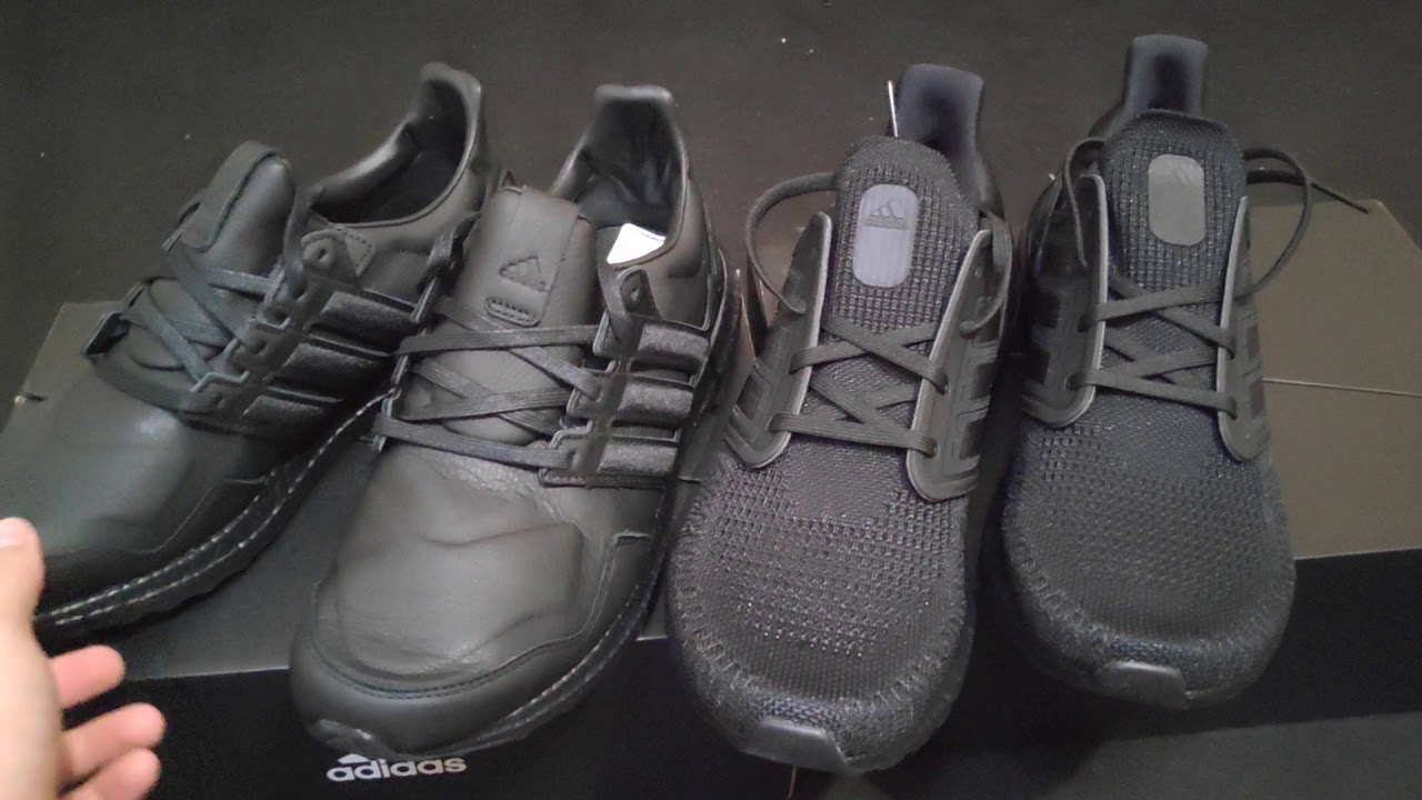 UltraBoost Leather 'Core Black'