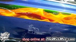 ULTIMATE TRICK How to Color Sand & Cut A LARGE Run from Clearcoat on SNOOP DOGG 1976 Cadillac ...
